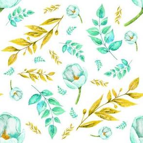 Dear Floral Collection - Mint