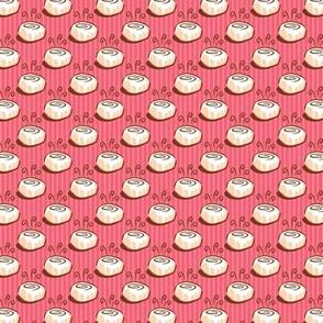Pink Cinnamon Swirl Small