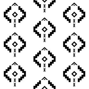 Black Aztec Arrow