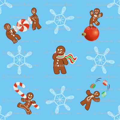 Impish Gingerbread Men