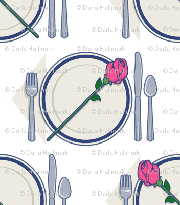 dinner rose
