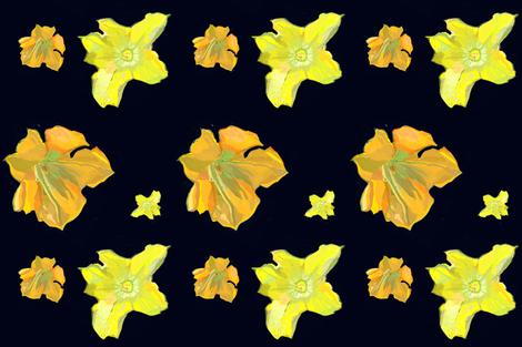 zucchini four very dark fabric by sally_parnis on Spoonflower - custom fabric