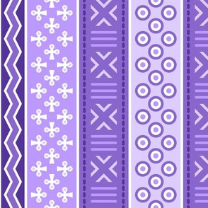 06988453 : mudcloth : blue-violet