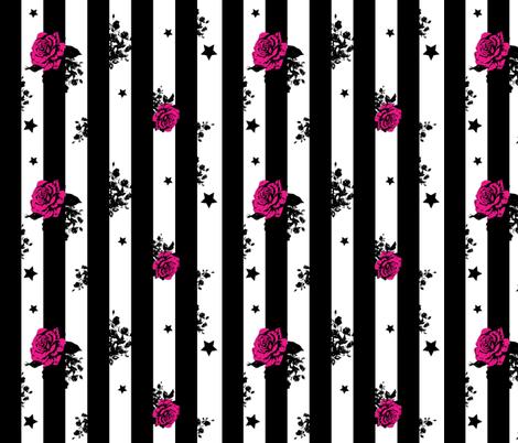 floral fabric by pumpkinbones on Spoonflower - custom fabric