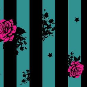 floral-teal