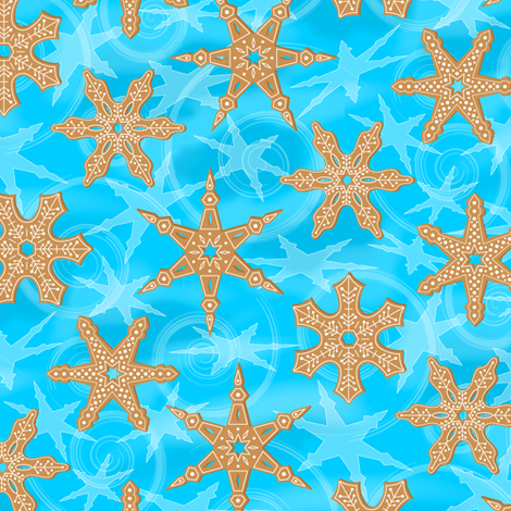 Gingerfrost fabric by jjtrends on Spoonflower - custom fabric