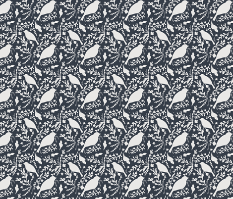 Blues-3 fabric by b__woolf on Spoonflower - custom fabric