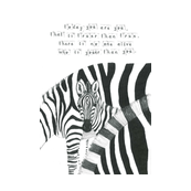 zebra - nursery quote pillow