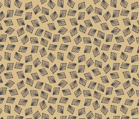 Geometric-Fans fabric by oona2707 on Spoonflower - custom fabric