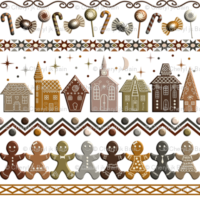 Gingerbread Row Dance