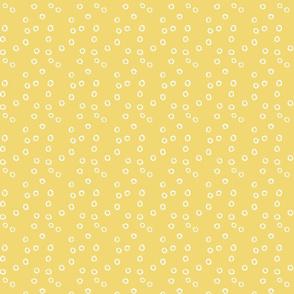 Ink Spot White Mustard