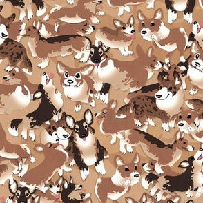 Desert Corgiflage