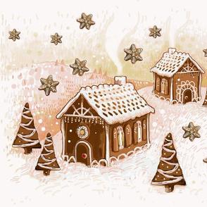 gingerbread landscape