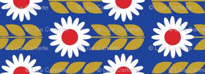Fika Flower Smaller Print
