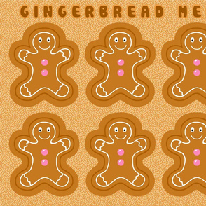 Cut & Sew Gingerbread Softies