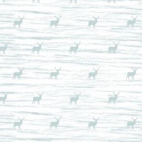 Small deer grunge in blue