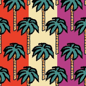 Catch Me If You Can Palm Tree Stripes
