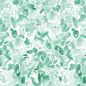 abstract - mint green period