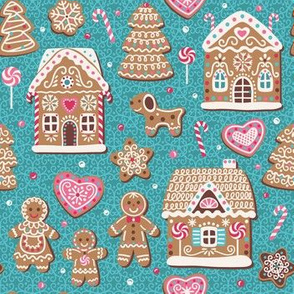 Gingerbread fairy tale