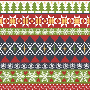 Fair Isle Holiday (Dark)