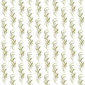 Watercolor - Kelp, Leaves, Vine