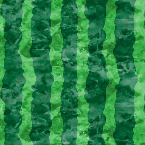 watermelon skin - green watercolor  fabric by littlearrowdesign on Spoonflower - custom fabric