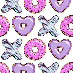 xo shaped donuts - multi