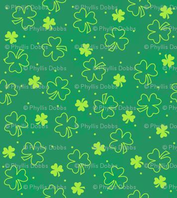 Shamrocks Green Lime Green
