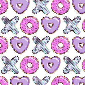 (small scale) xo shaped donuts - multi