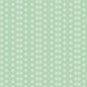 Green Fish Dots Dancing