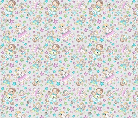gingerbread grau challenge fabric by coloreva on Spoonflower - custom fabric