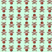 Rudolph Pattern Green