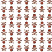 Rudolph Pattern - White
