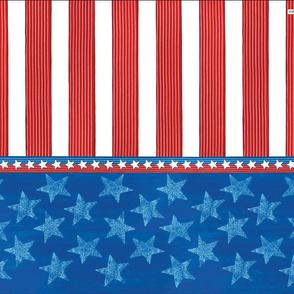 Stars Stripes Tea Towel