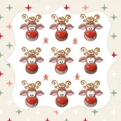 Rudolph GingerBread Pattern
