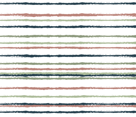 Stripes Fiesta fabric by paperondesign on Spoonflower - custom fabric