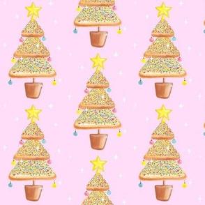 Fairy bread - Fairy Christmas (pink)