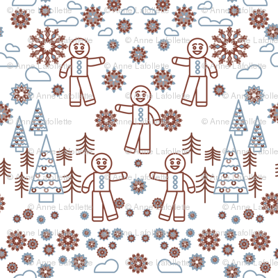 Gingerbread-for-Spoonflower