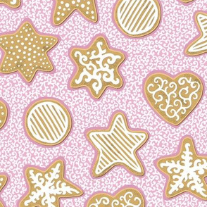Gingerbread on Pink