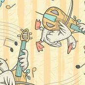 Cellist Duck