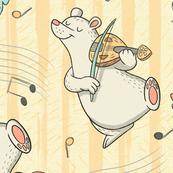 Fiddlin' Bear