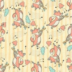 Flautist Fox