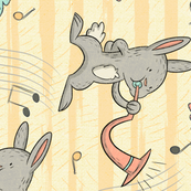Trumpeter Bunny
