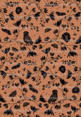 ORCHID OWL BLACK - DESERT PINK