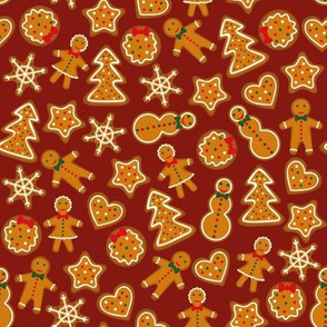 Gingerbread pattern