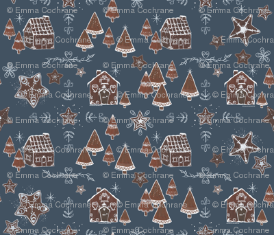 Gingerbread Houses and Cookies