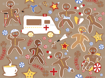 Gingerbread Casualties