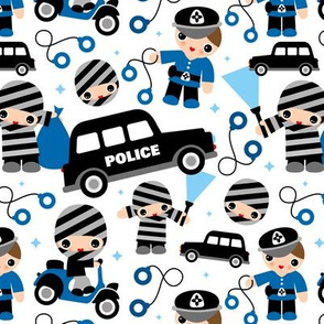 Thiefs cobs and robbers police theme