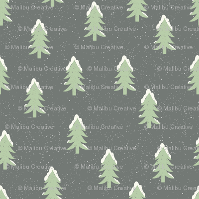 Winter - Trees