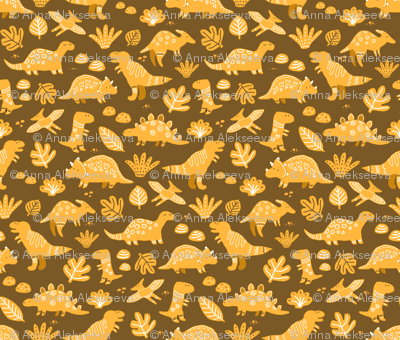 sketch dinos gingerbread pattern. cute prehistoric dinosaurs cookies design.